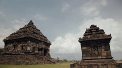 Candi Ijo, Indonesia Stock Footage