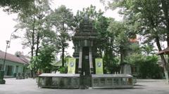 Ganjuran Temple, Bantul Yogyakarta Stock Footage