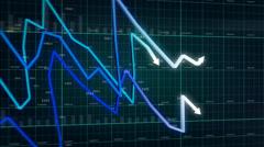 Bar graph. - stock footage