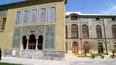 In iran antique palace Stock Footage