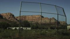 Baseball Field Empty Stock Footage