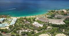 Luxury Resort Development Stock Footage