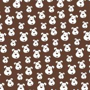cute little puppy - stock illustration