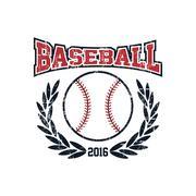 Baseball league theme Stock Illustration