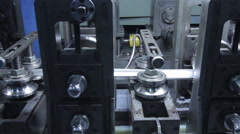 tube mill line - stock footage