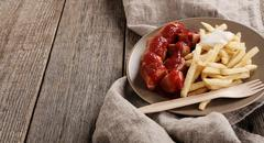 Curry wurst Stock Photos