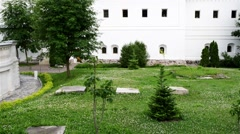Church of St. Zosima and Savvatiy, Trinity Lavra Stock Footage