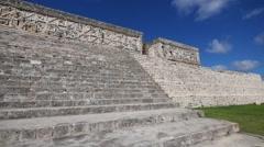 Mayan ruins uxmal Stock Footage