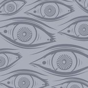 Horus eye Stock Illustration
