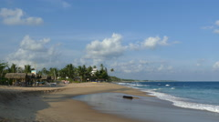 Tangalle beach Stock Footage