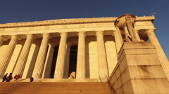 The Lincoln Memorial Stock Footage