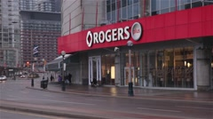 Rogers Centre toronto Stock Footage