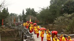 Traditional festivals, asia Stock Footage