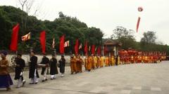 Folk festivals in Asia Stock Footage