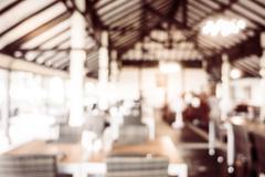Blur restaurant - stock photo