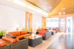Abstract blur lobby - stock photo