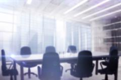 Image of a boardroom Stock Illustration