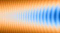 Orange and blue stripes background Stock Footage