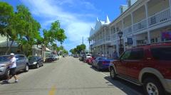 Stock footage Duval Street Key West Stock Footage