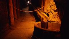 Wieliczka Salt Mine in southern Poland near Krakow Stock Footage