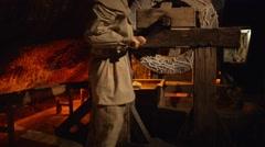 Wieliczka Salt Mine in southern Poland near Krakow - stock footage