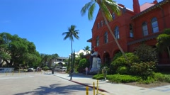 Tourist attractions in Key West FL 4k - stock footage