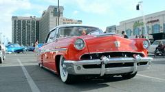 Viva Las Vegas Car Show 2016 in Las Vegas, USA. - stock footage