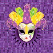 Full Face Mask Stock Illustration