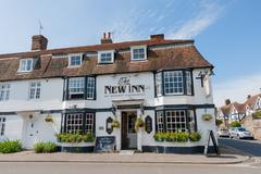 The New Inn Stock Photos