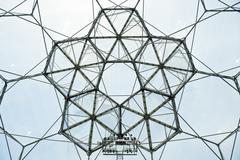 bio-dome architecture - stock photo