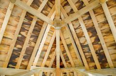 Roof timbers Stock Photos