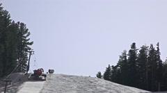 Ratrack at work in Bansko, Bulgaria in winter. Stock Footage