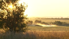 Kansas Country Sunrise III - stock footage