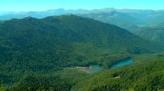 Biograd Lake on the Bjelasica mountain at summer, Montenegro rn Stock Footage