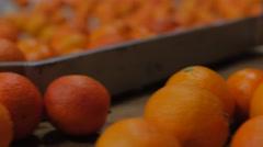 Orange Work Processing Stock Footage