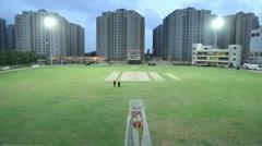 Time Lapse of Cricket Stadium - stock footage