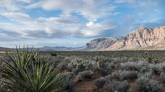 Red Rock Canyon National Conservation Area Time Lapse near Las Vegas Nevada - stock footage