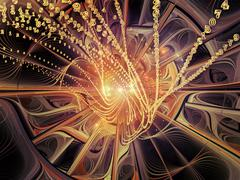 Synergies of Infinity - stock illustration