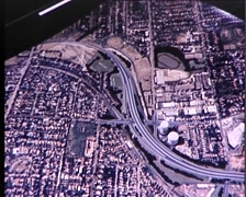 South Eastern Freeway Plans, Melbourne Australia (archive footage1980's) - stock footage