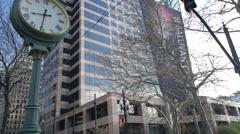 Salt Lake City clock Arkistovideo