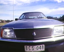 HOLDEN COMMODORE CAR, (Archive Footage) EARLY 1980S - stock footage
