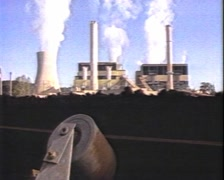 LATROBE VALLEY COAL MINING (archive footage) 1980s Stock Footage