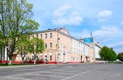 "Factory ""Trud"", Gomel, Belarus - stock photo"