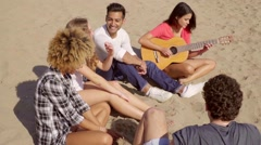 Chill To The Sounds Of The Guitar. - stock footage