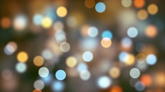 Twinkling or Sparkling Colorful Bokeh Orb Shapes 4K UHD  Stock Footage