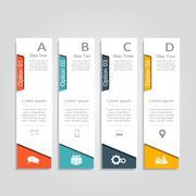 Infographic design template. Vector illustration Stock Illustration