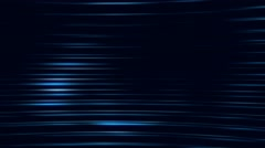 Blue Lasers or Light  Streaks on a Black Background - stock footage