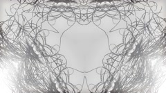 Kaleidoscope logo natural effect for 1080p Stock Footage