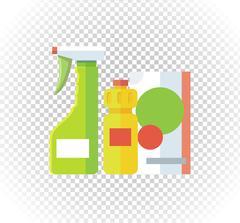 Household Chemical Appliances Stock Illustration