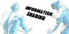 Information Sharing - stock illustration